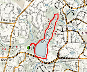 Shelley Lake Trail Map