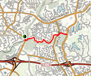 Four Mile Creek Greenway Map