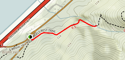 Coopey Falls Trail (CLOSED) Map