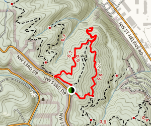 Keil Loop Trail Map