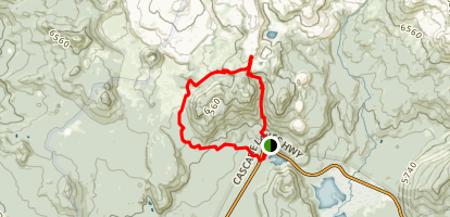 Wickiup Plain Loop Trail Map