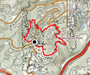 Wildwood and Redwood Trail Loop Map