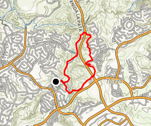 Reserve Hills Trail Map