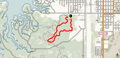 Inner Green Ski Trail Map