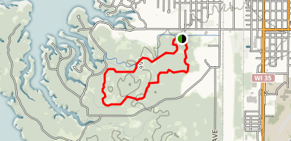 Outer Green Ski Trail Map