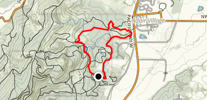 Calloway Creek Trail Map