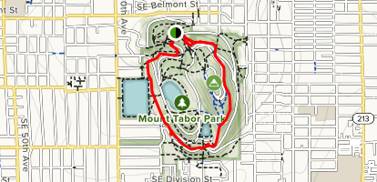 Mount Tabor Outer Loop Map