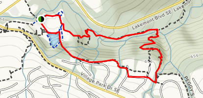 Lakemont Loop Trail Map