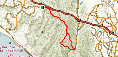 Bommer Ridge to Laguna Ridge to Big Bend Loop Map
