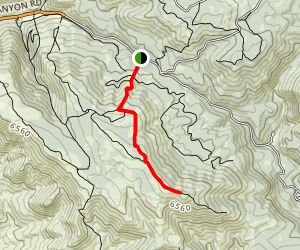 Kelly Mountain Map