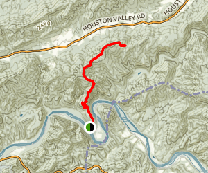 Chimney Rocks Trail Map