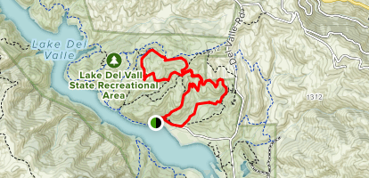 Squirrel Gulch Trail to Eagle Crest Trail to Ridgeline Trail Loop Map