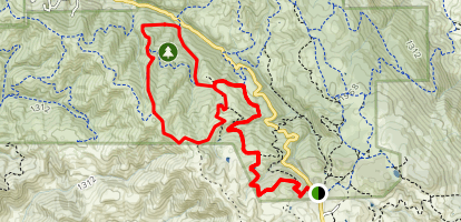 Clyma, Highland Ridge and Raven Loop Map