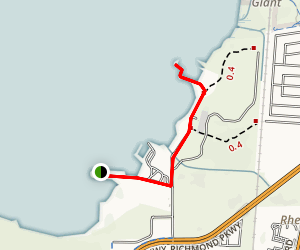 China Clipper Spur and Cordgrass Jetty Trail Map