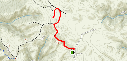 Golden Eagle Trail to View Point Map