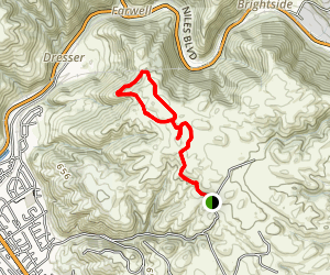 Golden Eagle Trail, Viewpoint, and Upper Ranch Trail Map