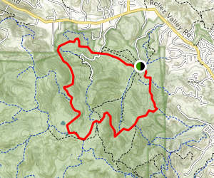 Diablo View, Spengler, Old Briones Road, Lagoon, Toyon Canyon, Pine Tree and Orchard Loop Map