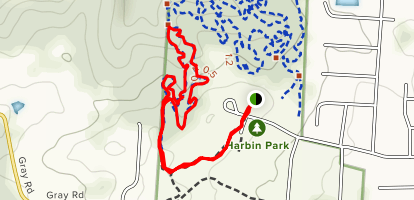 Green Trail Map