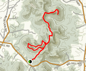 West Pinnacle, Robe Mountain, and Basin Mountain Loop Map