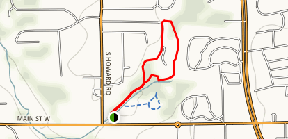 Greenwood Nature Trail Map