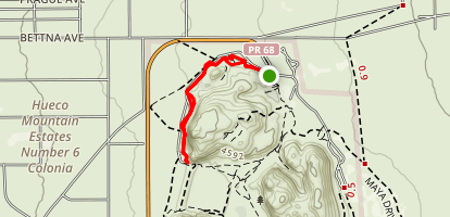 Hueco Tanks Nature Trail Map