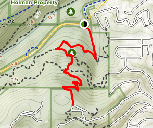 Tunnel Trail to Wildwood Trail Map