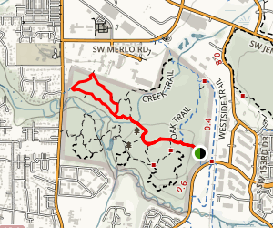 Vine Maple and Old Wagon Loop Map
