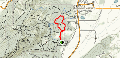 Calloway Creek Trail Loop Map