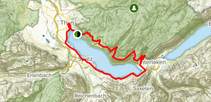 Thunersee Trail  Map