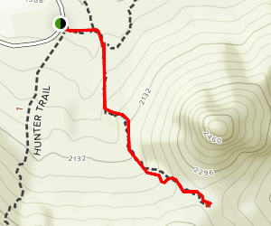 Calloway Trail to Overlook Map
