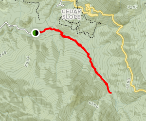 Camp Nelson Trail Map