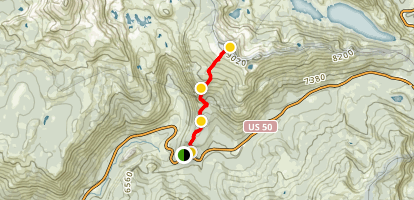 Ralston Peak Trail Map