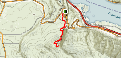 Tom McCall Point Trail Map