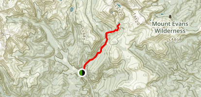 Abyss Trail to Helms Lake Map
