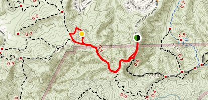 Vanalden Cave Trail Map