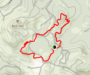 Columbia College Fitness Trail Map
