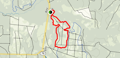 Crooked Creek Short Trail Map