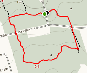 Woodland Trails Loop Map