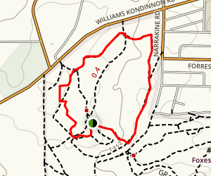 Bansia Walk Map