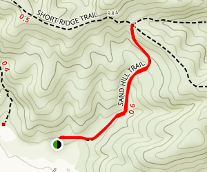 Sand Hill Trail Map