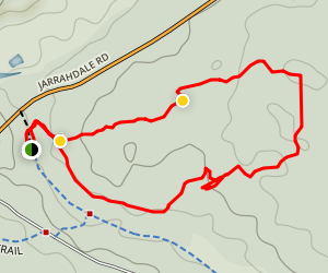 Mundlinup Trail Map
