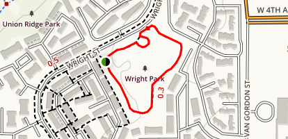 Wright Park Map