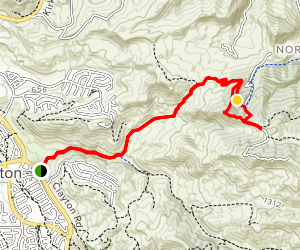 Peacock Ridge Map