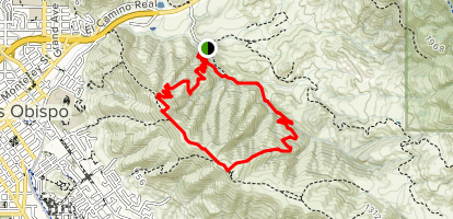 Reservoir Canyon Loop Trail Map