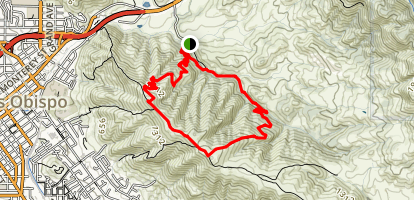 Reservoir Canyon Trail Map