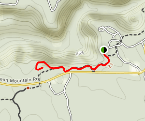 Bear Cave Trail Map