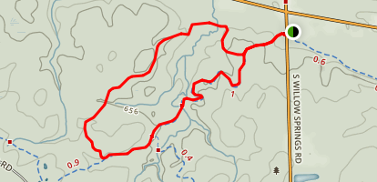 Visitation Esker Trail Map