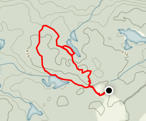 High Lonesome Nature Reserve Loop Map