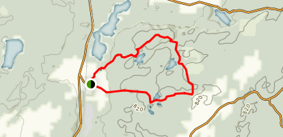 Fjallastigen Trail Map