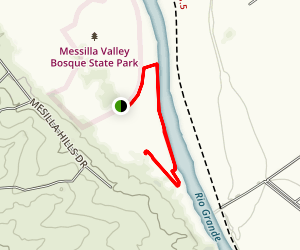 Mesilla Valley Bosque Trail Map
